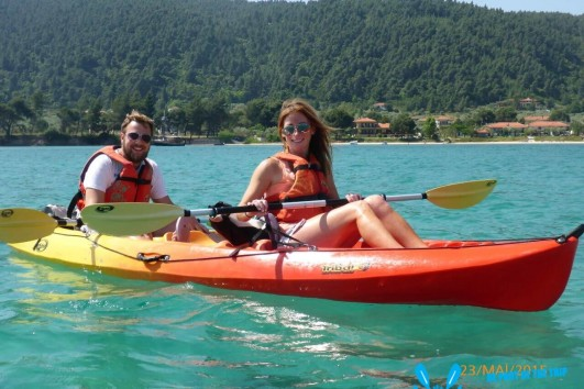 Sea Kayak Halkidiki Full Day trip