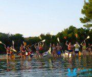 Sea Kayak Halkidiki Sunset trip